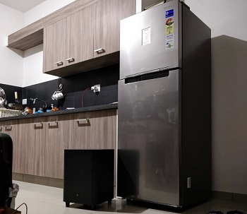 live at home samsung 258l double door refrigerator