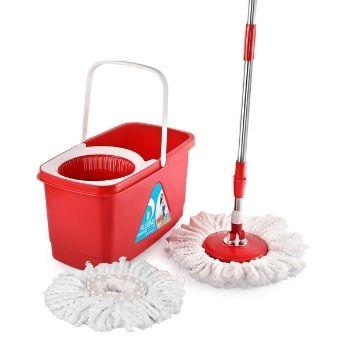 Cello Kleeno Easy Clean 360 Degree Plastic Bucket Spin Mop