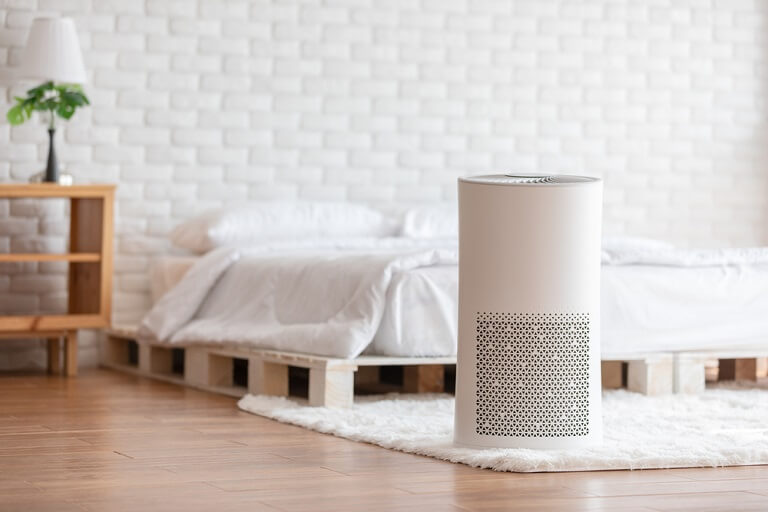 actual Size of Air Purifier