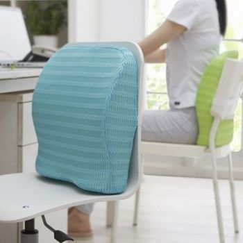 HealthSense Soft Memory Foam Orthopedic Backrest Support